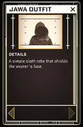 Jawa Outfit - Datapad