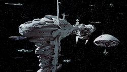 Rebel fleet ESB