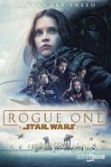 Rogue One novelization French paperback cover