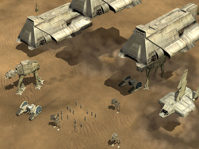 Star wars empire at war wookieepedia fandom powered by wikia at at barges as seen in the game gumiabroncs Images