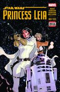 Star Wars Princess Leia Vol 1 3 2nd Printing Variant