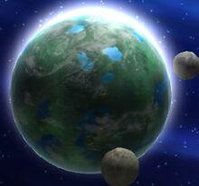 Thyferra e le sue lune