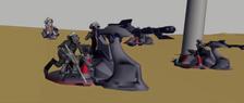 Combat speeders