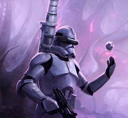 Mortar Phase II Clone Trooper SWL