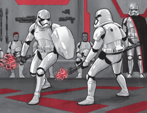 Phasma FN Corps training