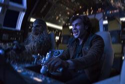 Chewbacca Han Falcon