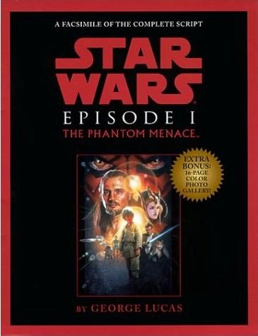 Star Wars Episode I The Phantom Menace Script Facsimile Wookieepedia Fandom