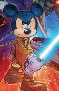 Jedi Mickey SWW 2015 poster
