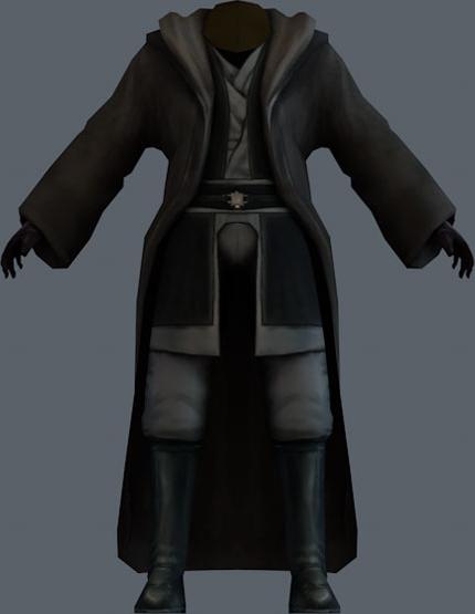 Dark Jedi Master robe render 857fedecf