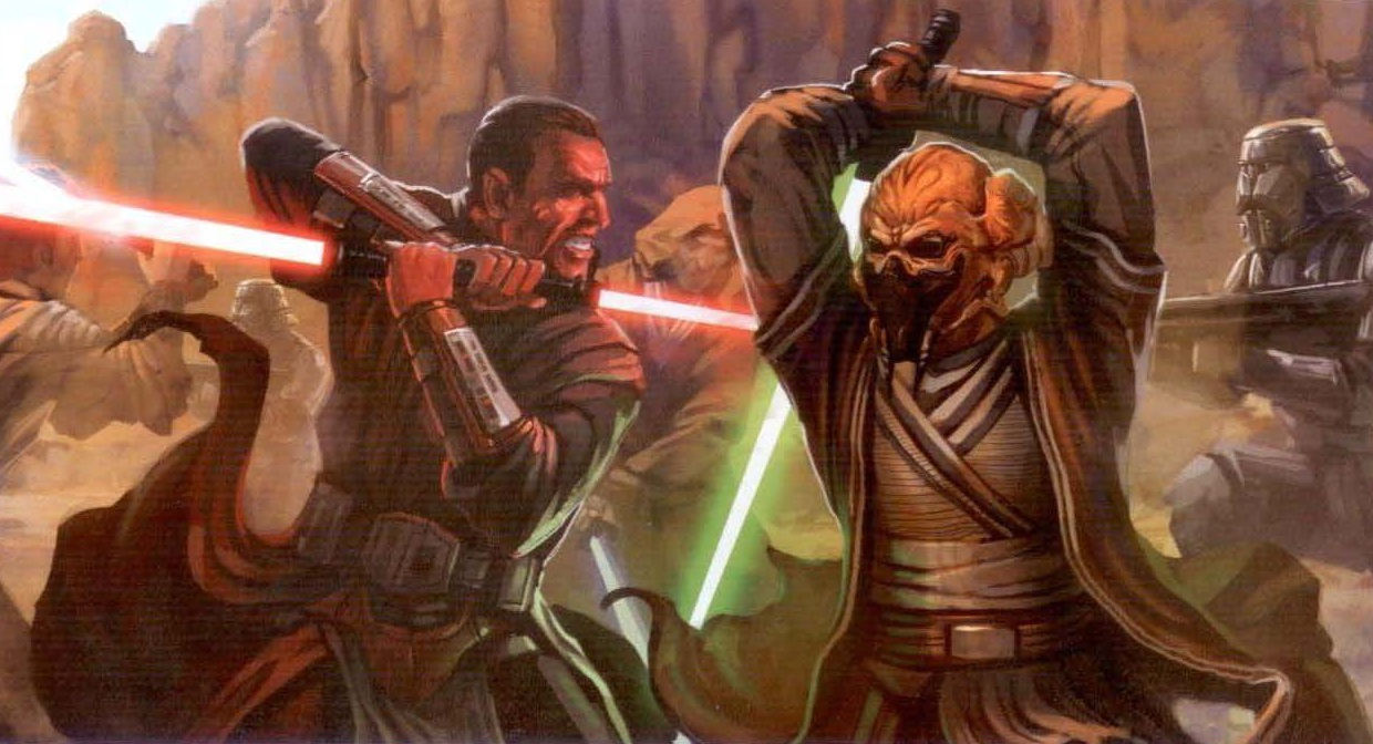 Jedi Battle Wallpaper