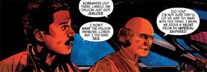 Lando and Lobot escape Castell