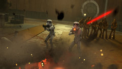 Ghost Fires on Stormtroopers
