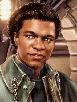 Lando Calrissian young