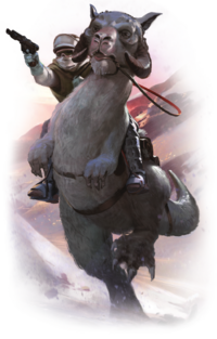 SWL40 Tauntaun Riders Unit Epxansion box art