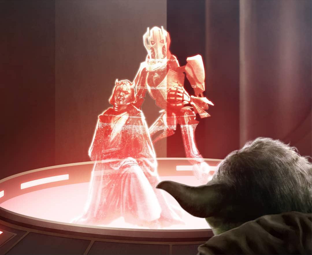 Star Wars Black Saga série REVENGE OF SITH Mort du Général Grievous Figure