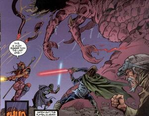 Jediové vs leviathan