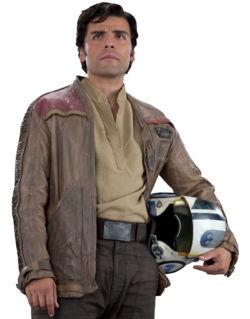 Poe Flight Jacket Fathead