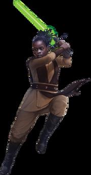 RotS Jedi green saber