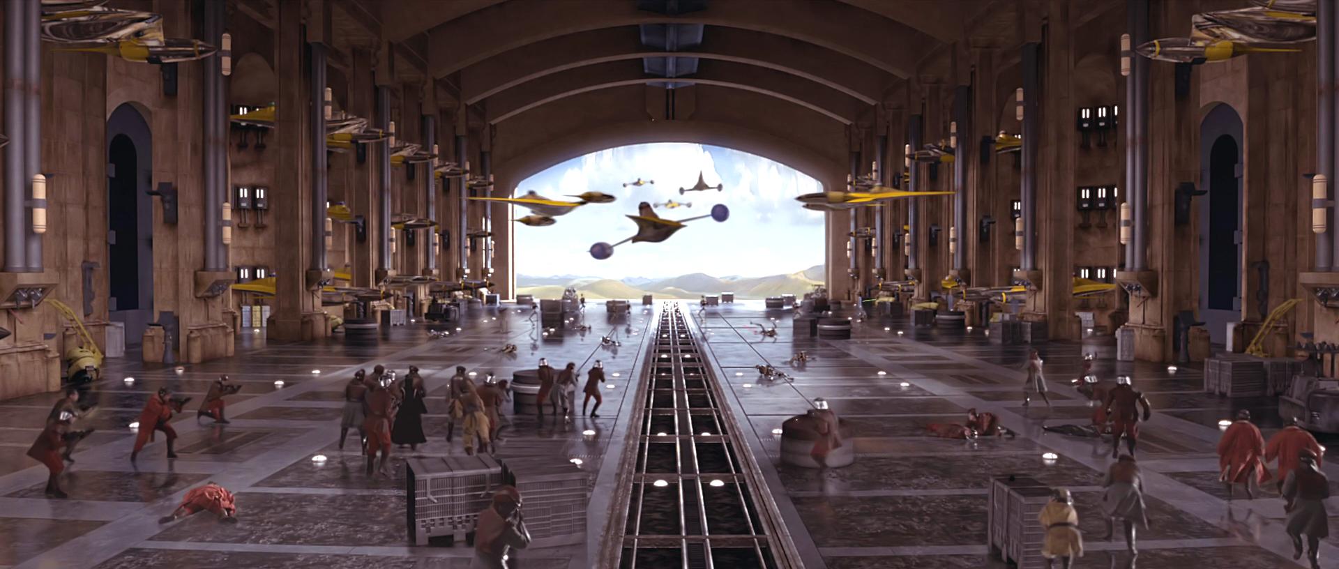 Theed Hangar | Wookieepedia | FANDOM powered by Wikia