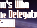 Who's Who in the Delegation of 2000