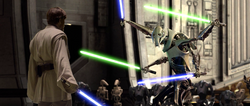 Kenobi faces Grievous ROTS