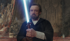 Luke Skywalker on Crait