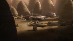 SWR Lothal Resistance Base