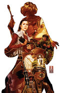 Star Wars Princess Leia Vol 1 1 Mark Brooks Variant Textless