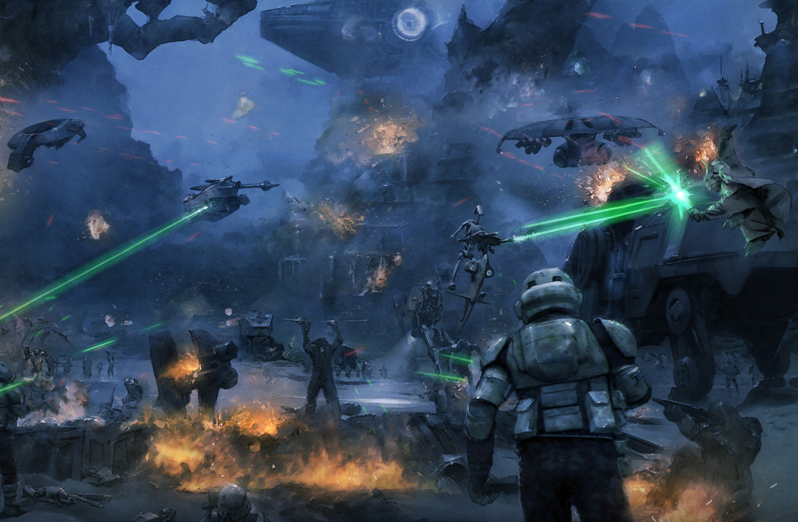 Battle of Kashyyyk | Wookieepedia | FANDOM powered by Wikia