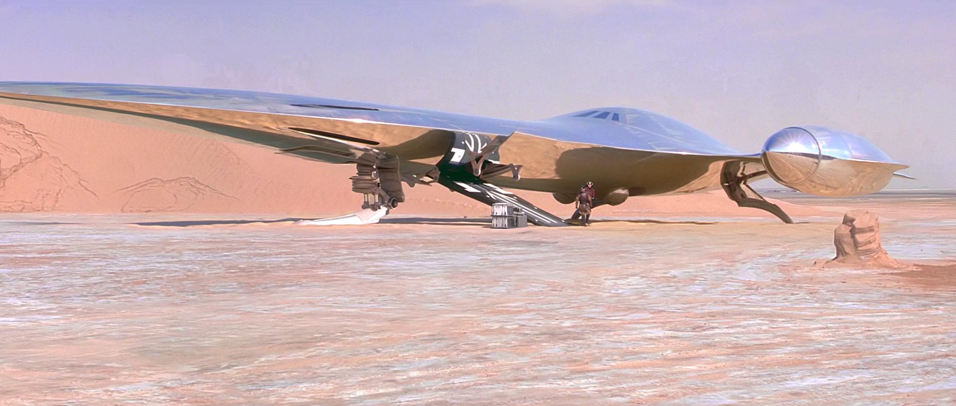Star Wars CCG Coruscant Queen/'s Royal Starship