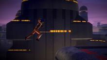 Ezra Jumps Over Garel Roofs