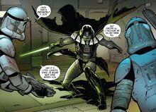 Kicker and Ding vs Vader