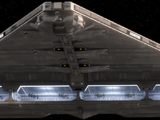 Quasar Fire-class cruiser-carrier