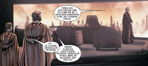 Chancellor visit Obi-Wan and Anakin Part II