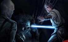 Luke Skywalker defends Drusil