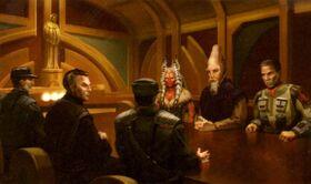 Alderaan peace talks JMGD