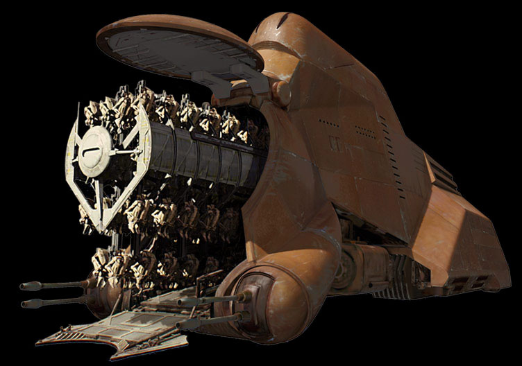 Troop transport | Wookieepedia | FANDOM powered by Wikia