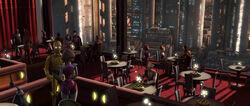 Padmé Clovis diner