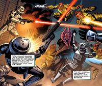 Rangers vs stormtroopers