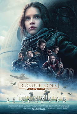Rogue One A Star Wars Story theatrical poster