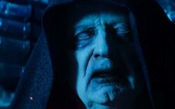Sidious in a clone body