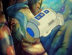 R2-D2 onderwater