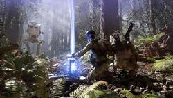 Endor trooper shield