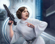 Leia Organa by Anthony Foti