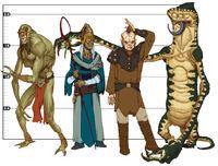 Alien lineup