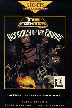 TIE Fighter - Defender of the Empire Campaign Disc - Official Secrets & Solutions