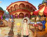 Amidala on the Coliseum plaza