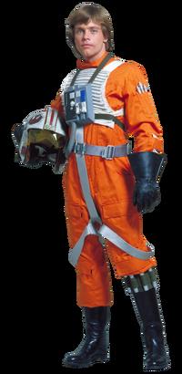 Luke Skywalker pilot
