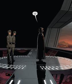 Ozzel Veers Darth Vader meeting Star Wars 50