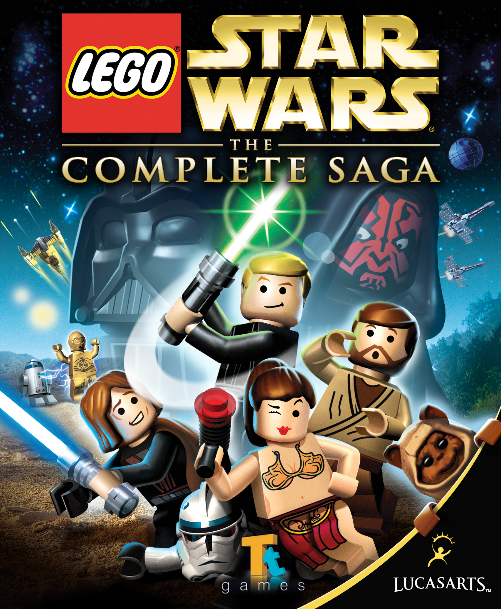 lego star wars the complete saga android black screen